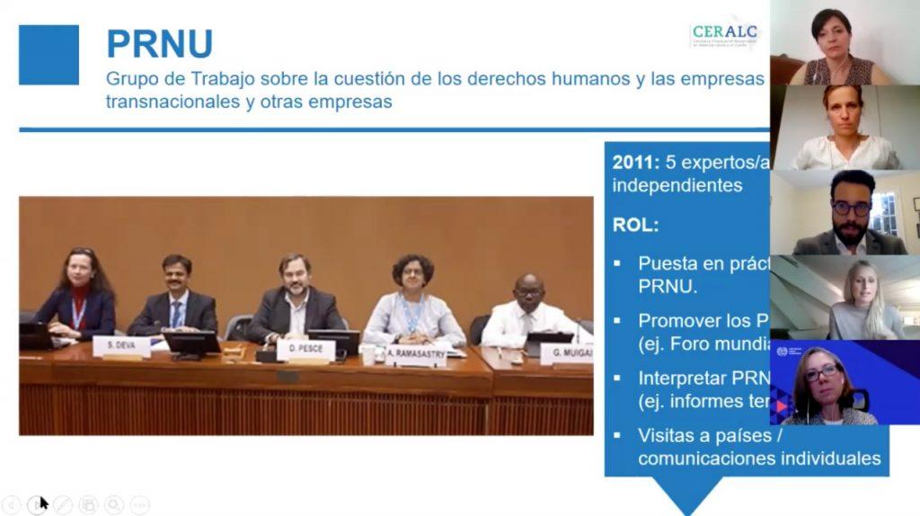 La Defensoría del Pueblo de la Nación realizó un encuentro virtual sobre Conducta Empresarial Responsable