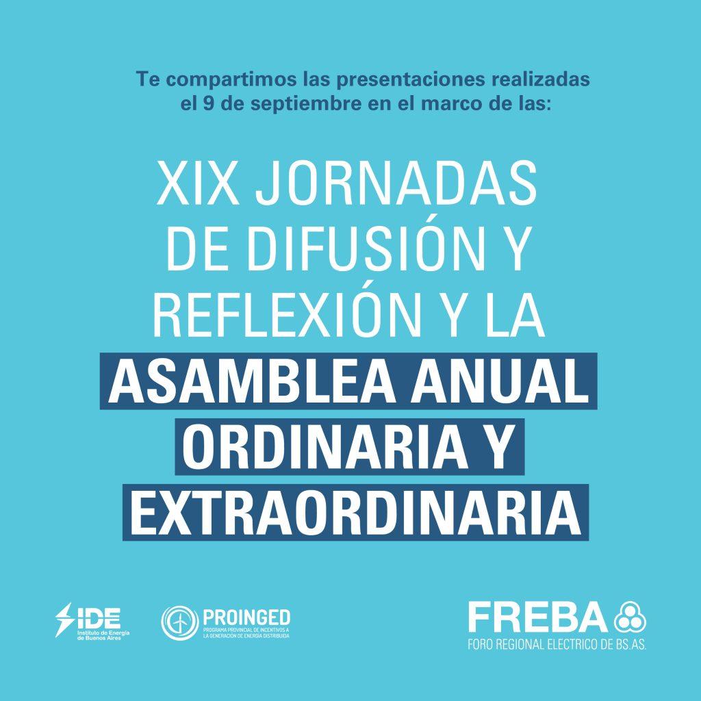 Participamos de una nueva Asamblea Anual del FREBA